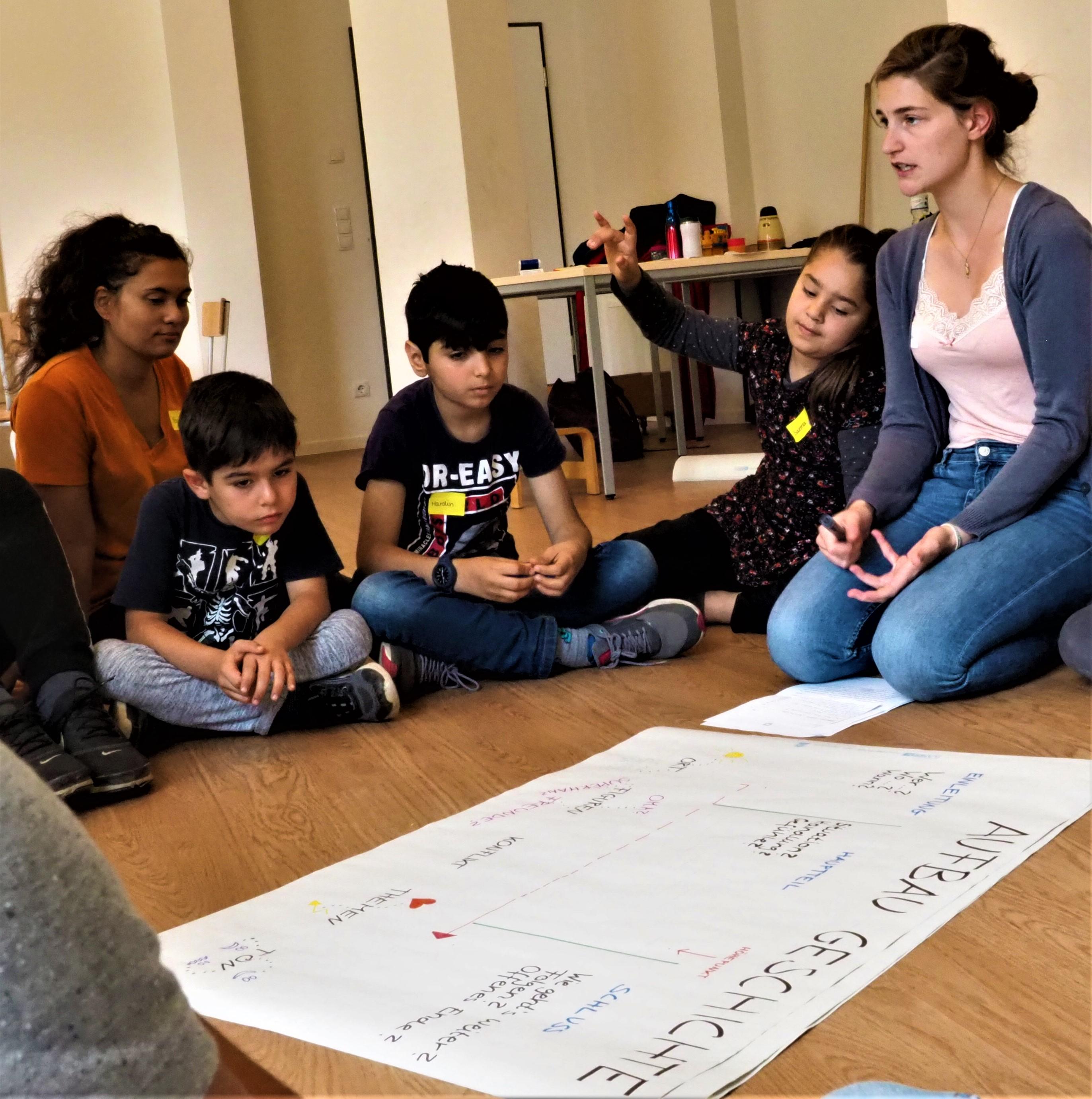 Workshop 03.07.19 © Nader Etmenan Stiftung