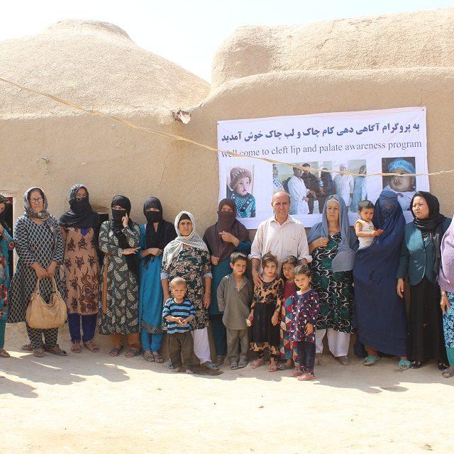 Aufklärungscamp in Mazar I Sharif © Deutsche Cleft Kinderhilfe e.V.