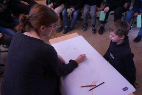 Ein Kinderbuch entsteht, Workshop