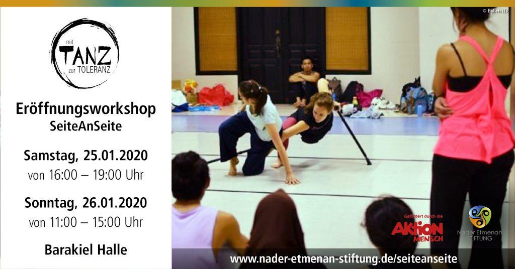 Eröffnung SeiteAnSeite © ID Ballet