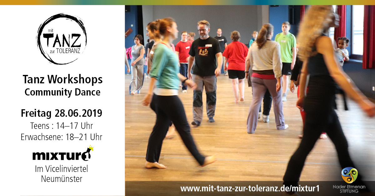 Community Dance Workshop bei Mixtur 1 am 28.06.2019