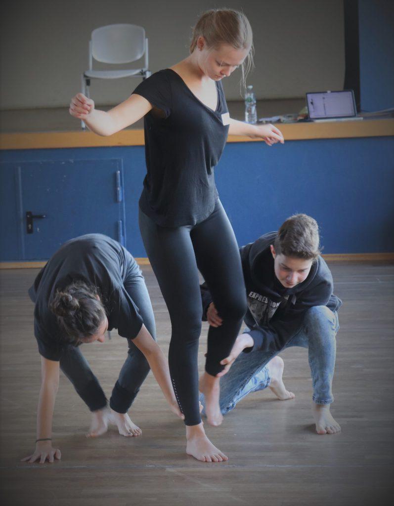 Mit Tanz zur Toleranz-Workshop 20.10.2018 © Nader Etmenan Stiftung