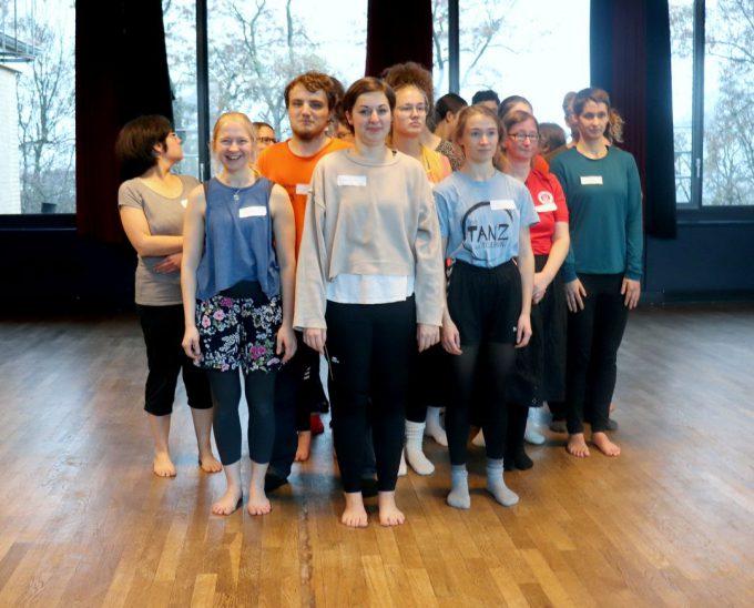Mit TANZ zur Toleranz - Workshop 24.11.18 © Nader Etmenan Stiftung