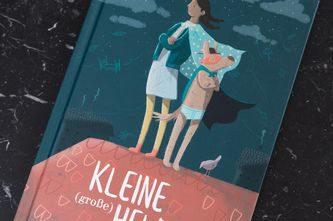 Kleine (große) Heldin_Illustration von Laura Bednarski © Nader Etmenan Stiftung
