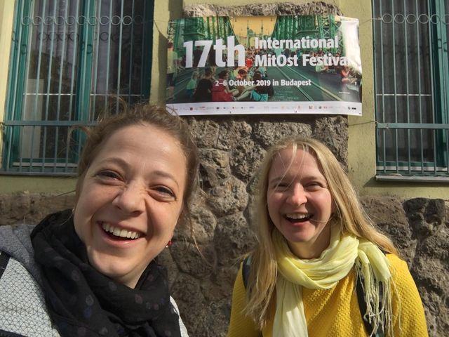 Mit TANZ Zur Toleranz Beim MitOst Fest. Team