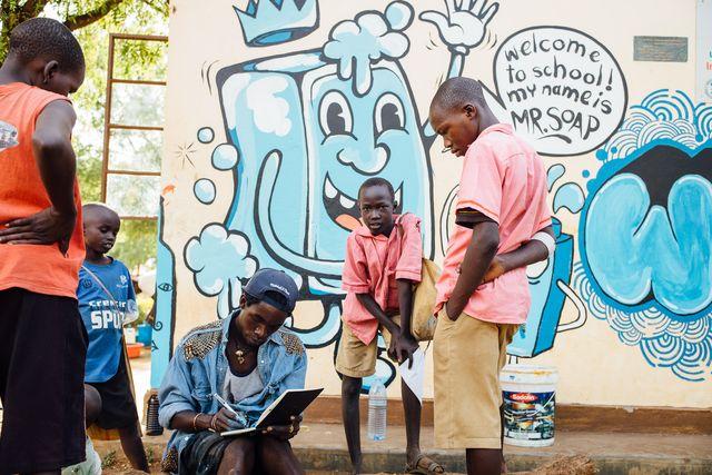 WASH Street Art_Uganda_©_Stefan Groenveld