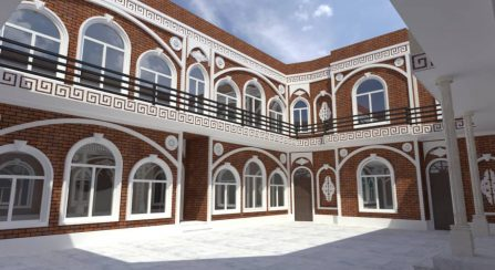 Entwurf Waisenheim in Herat: Neues Gebäude